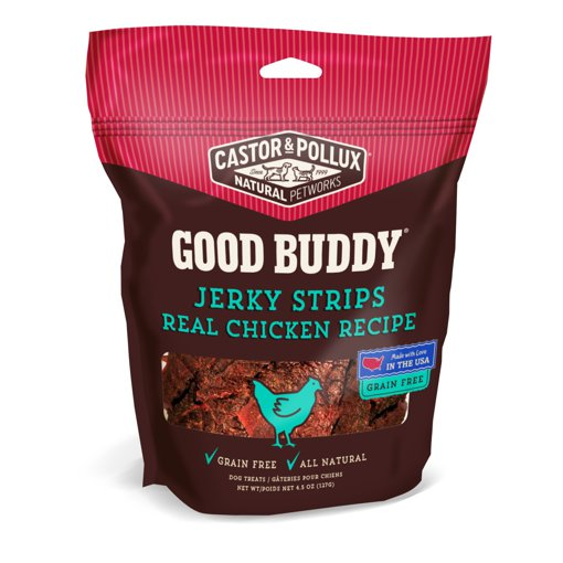 Picture of Good Buddy Jerky Strips - Real Chicken Recipe - 128 g