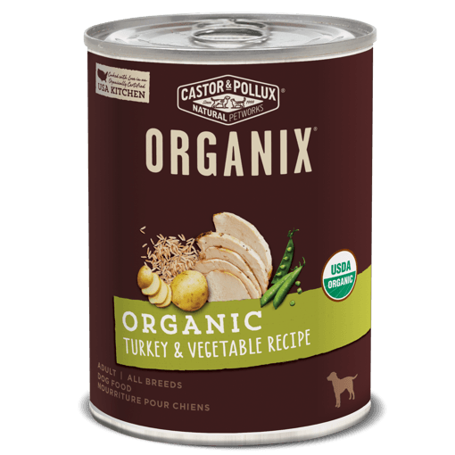 Picture of ORGANIX Canned Dog Food - Turkey & Vegetable Recipe - 360 g