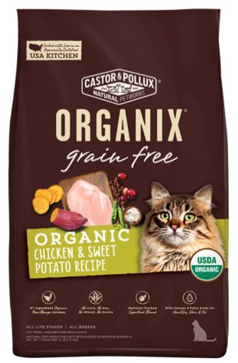 Picture of ORGANIX Cat Food - Chicken & Sweet Potato Recipe - 1.36 kg