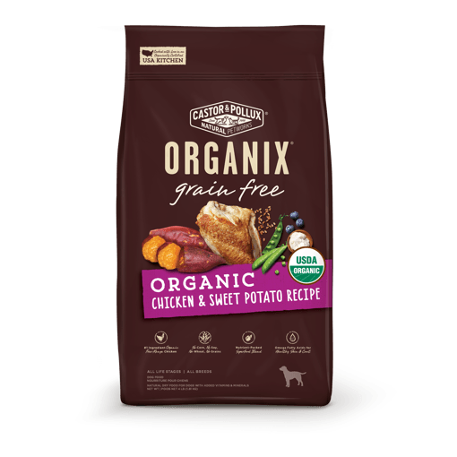 Picture of ORGANIX Dog Food - Chicken & Sweet Potato Recipe - 1.81 kg