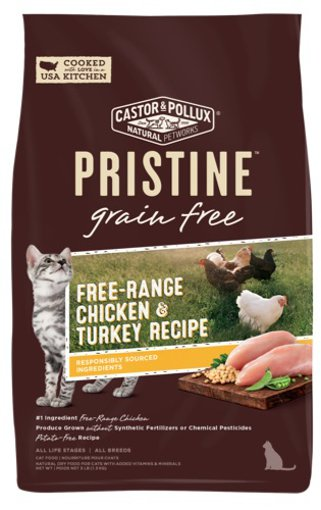Picture of Pristine Cat Food - Free Range Chicken and Turkey Recipe - 1.36 kg