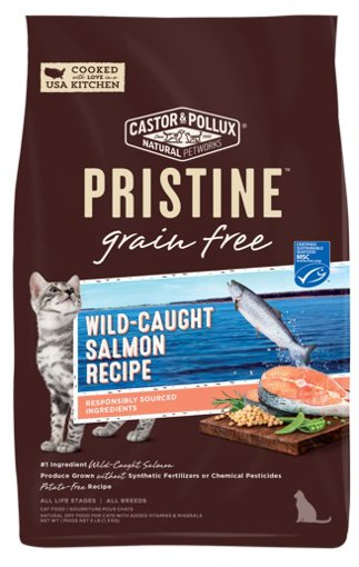 Picture of Pristine Cat Food - Wild-Caught Salmon Recipe - 1.36 kg