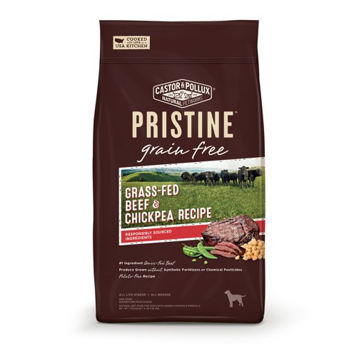 Picture of Pristine Dog Food - Grass-Fed Beef & Chickpea Recipe - 1.81 kg