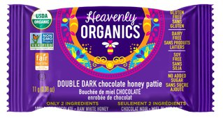 Picture of Chocolate Honey Patties - Double Dark - 11 g