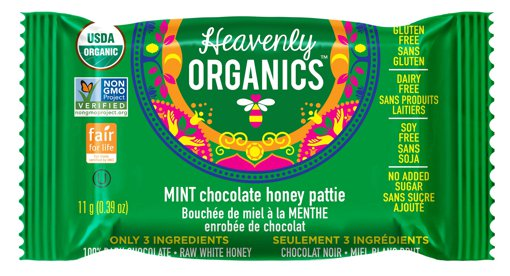 Picture of Chocolate Honey Patties - Mint - 11 g