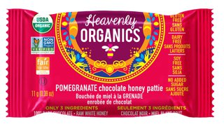 Picture of Chocolate Honey Patties - Pomegranate - 11 g