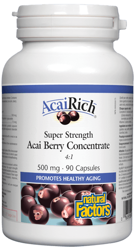 Picture of AcaiRich - 500 mg - 90 capsules