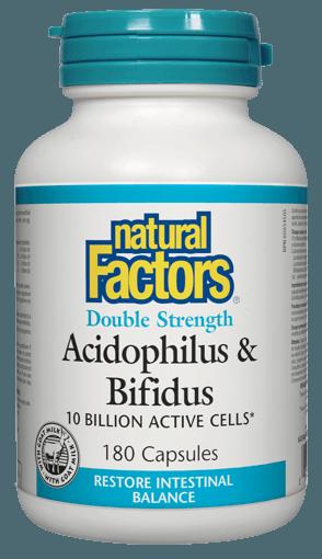Picture of Acidophilus & Bifidus Double Strength - 180 capsules