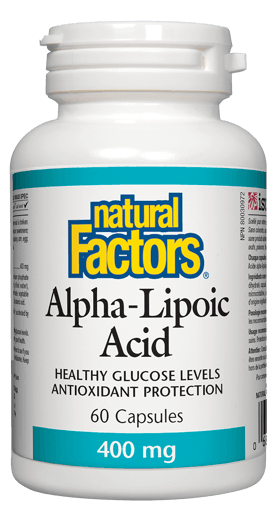 Picture of Alpha-Lipoic Acid - 400 mg - 60 capsules