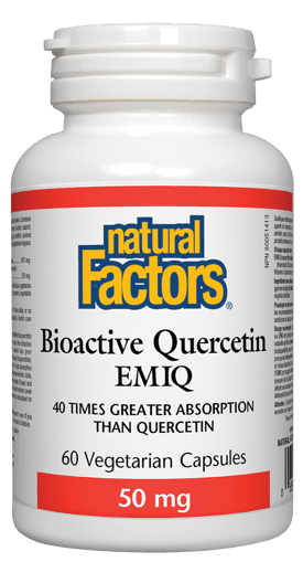 Picture of Bioactive Quercetin EMIQ - 50 mg - 60 veggie capsules