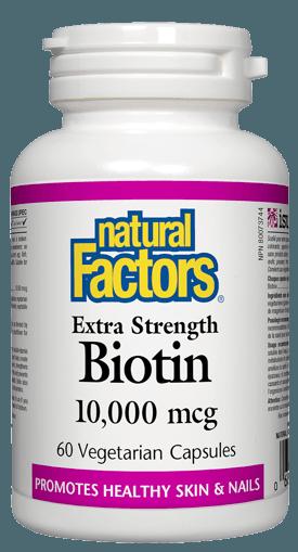 Picture of Biotin - 10,000 mcg - 60 veggie capsules