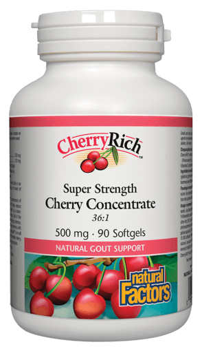 Picture of CherryRich - 500 mg - 90 soft gels