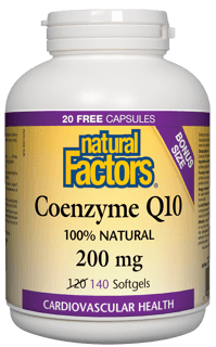 Picture of Coenzyme Q10 Bonus - 200 mg - 140 soft gels