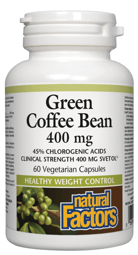 Picture of Green Coffee Bean - 400 mg - 60 veggie capsules