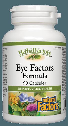 Picture of HerbalFactors Eye Factors Formula - 90 capsules