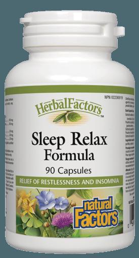Picture of HerbalFactors Sleep Relax Formula - 90 capsules