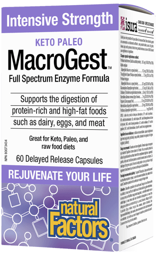 Picture of Keto Paleo MacroGest Full Spectrum Enzyme Formula - 60 capsules