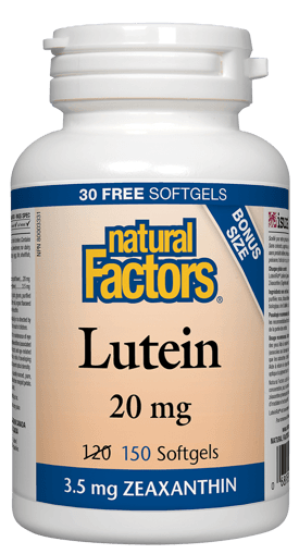 Picture of Lutein - 20 mg - 150 soft gels