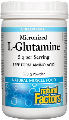Picture of Micronized L-Glutamine - 5 g - 300 g