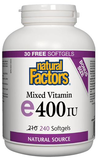 Picture of Mixed Vitamin E - 400 IU - 240 soft gels