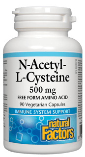 Picture of N-Acetyl-L-Cysteine - 500 mg - 90 veggie capsules