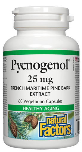 Picture of Pycnogenol - 25 mg - 60 capsules