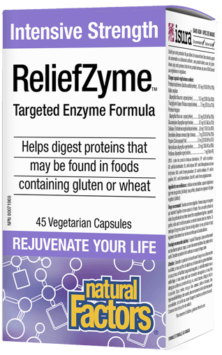Picture of ReliefZyme Targeted Enzyme Formula - 45 veggie capsules