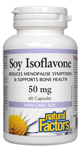 Picture of Soy Isoflavone Complex - 50 mg - 60 capsules