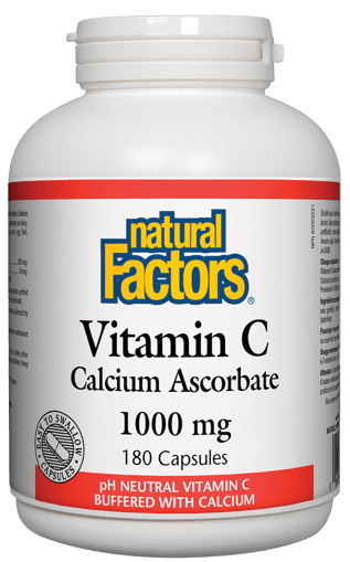 Picture of Vitamin C Calcium Ascorbate - 1,000 mg - 180 capsules