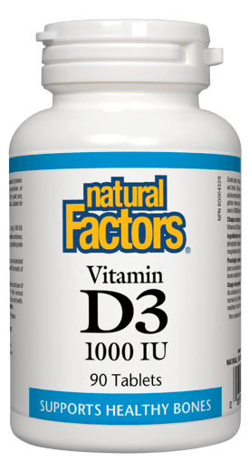 Picture of Vitamin D3 1000IU - 90 tablets