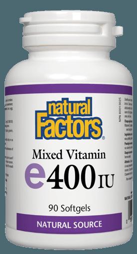 Picture of Vitamin E - 400 IU - 90 soft gels