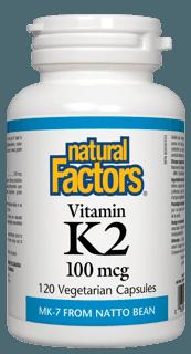 Picture of Vitamin K2 100mcg - 120 veggie capsules