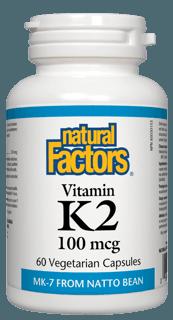 Picture of Vitamin K2 100mcg - 60 veggie capsules
