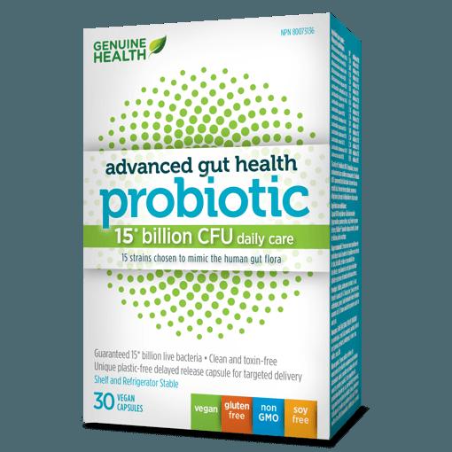 Picture of Advanced Gut Health Probiotic - 15 Billion CFU - 30 veggie capsules