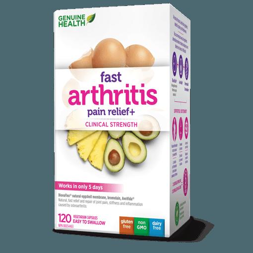 Picture of Fast Arthritis Pain Relief+ - 120 capsules