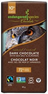 Picture of Chocolate Bar - Dark Chocolate with Almonds Sea Salt - 85 g
