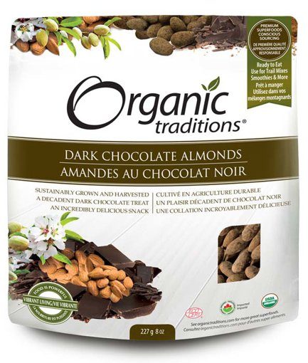 Picture of Dark Chocolate Almonds - 227 g
