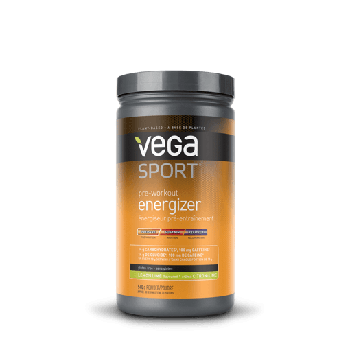 Picture of Sport Pre-Workout Energizer - Acai Berry 14 g Carbohydrates, 100 mg Caffeine - 540 g