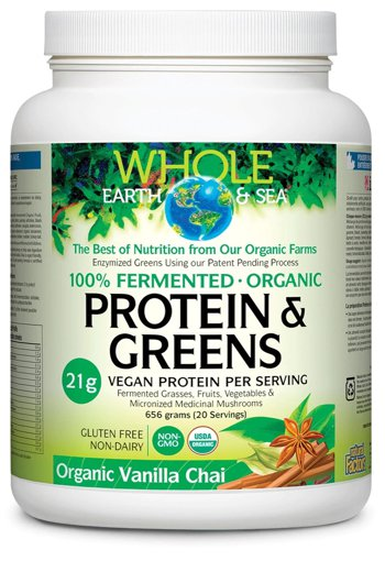 Picture of Protein and Greens - Vanilla Chai - 656 g