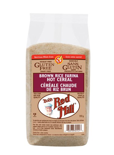 Picture of Brown Rice Farina Hot Cereal - 737 g