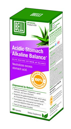 Picture of # 39 Acidic Stomach Alkaline Balance - 60 capsules