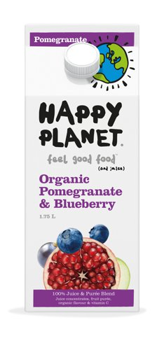 Picture of Fresh Juice - Organic Pomegranate & Blueberry - 1.75 L