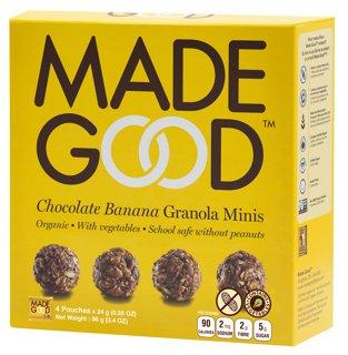 Picture of Granola Minis - Chocolate Banana - 4 x 24 g