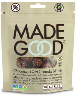 Picture of Granola Minis - Chocolate Chip - 100 g