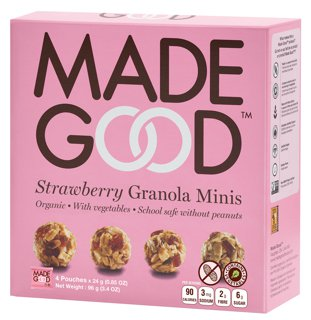 Picture of Granola Minis - Strawberry - 4 x 24 g