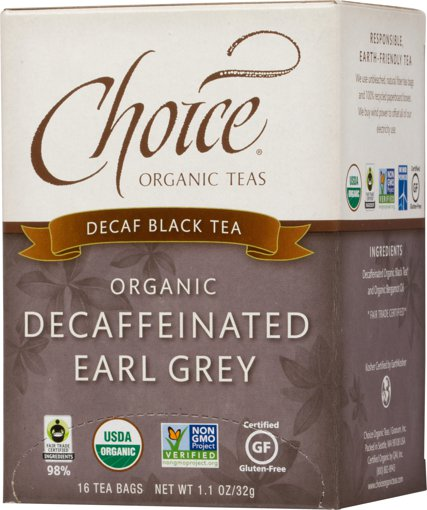 Picture of Black Tea - Decaffeinated Earl Grey - 16 count