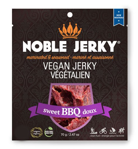 Picture of Vegan Jerky - Sweet BBQ - 70 g