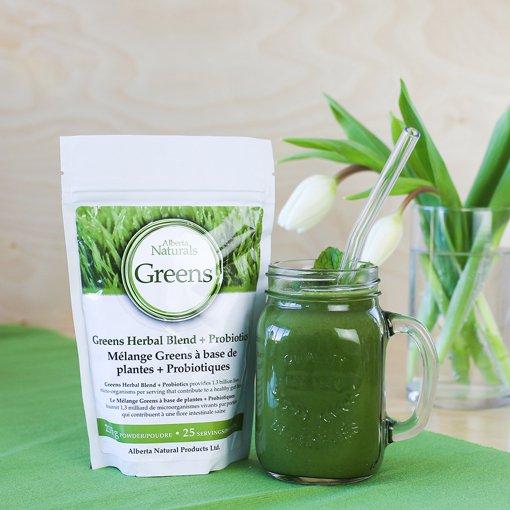 Picture of Greens Blend Plus Probiotics