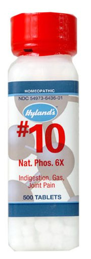 Picture of #10 Nat. Phos. - 6X - 500 tablets