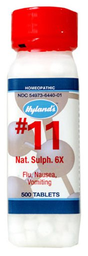 Picture of #11 Nat. Sulph. - 6X - 500 tablets